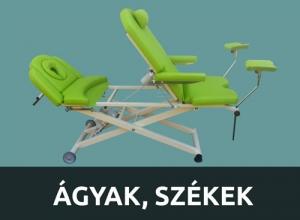 Ágyak, székek